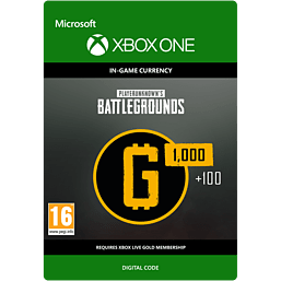 PLAYERUNKNOWN'S BATTLEGROUNDS 1,100 G-Coins