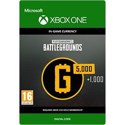 PLAYERUNKNOWN'S BATTLEGROUNDS 6,000 G-Coins