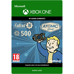 Fallout 76 - 500 Atoms for Xbox One