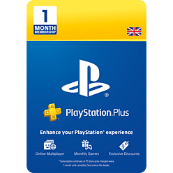 PlayStation®Plus: 1 Month Membership for PlayStation 4