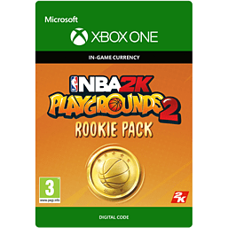 NBA 2K Playgrounds 2 Rookie Pack - 3,000 VC for Xbox One