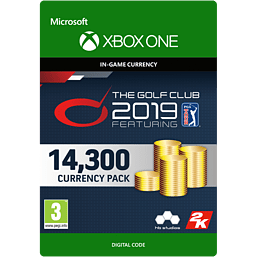 The Golf Club 2019 feat. PGA TOUR - 14,300 Currency for Xbox One