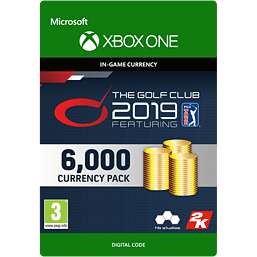 The Golf Club 2019 feat. PGA TOUR - 6,000 Currency for Xbox One