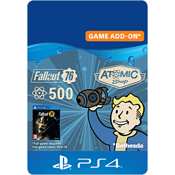 Fallout 76: 500 Atoms for PlayStation 4