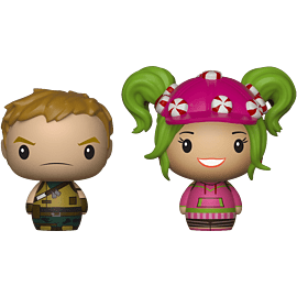 Pint Size Heroes 2-Pack: Fortnite - Ranger & Zoey for Scaled Models