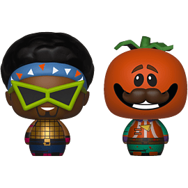 Pint Size Heroes 2-Pack: Fortnite - Funkops & Tomatohead for Scaled Models