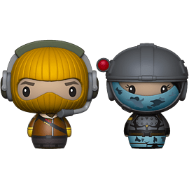 Pint Size Heroes 2-Pack: Fortnite - Raptor & Elite Agent