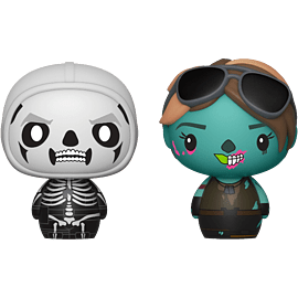 Pint Size Heroes 2-Pack: Fortnite - Skull Trooper & Ghoul Trooper for Scaled Models