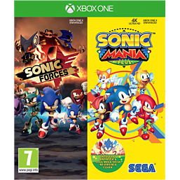 Sonic Forces & Sonic Mania Plus Double Pack - Only at GAME