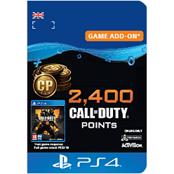 2,400 Call of Duty®: Black Ops 4 Points