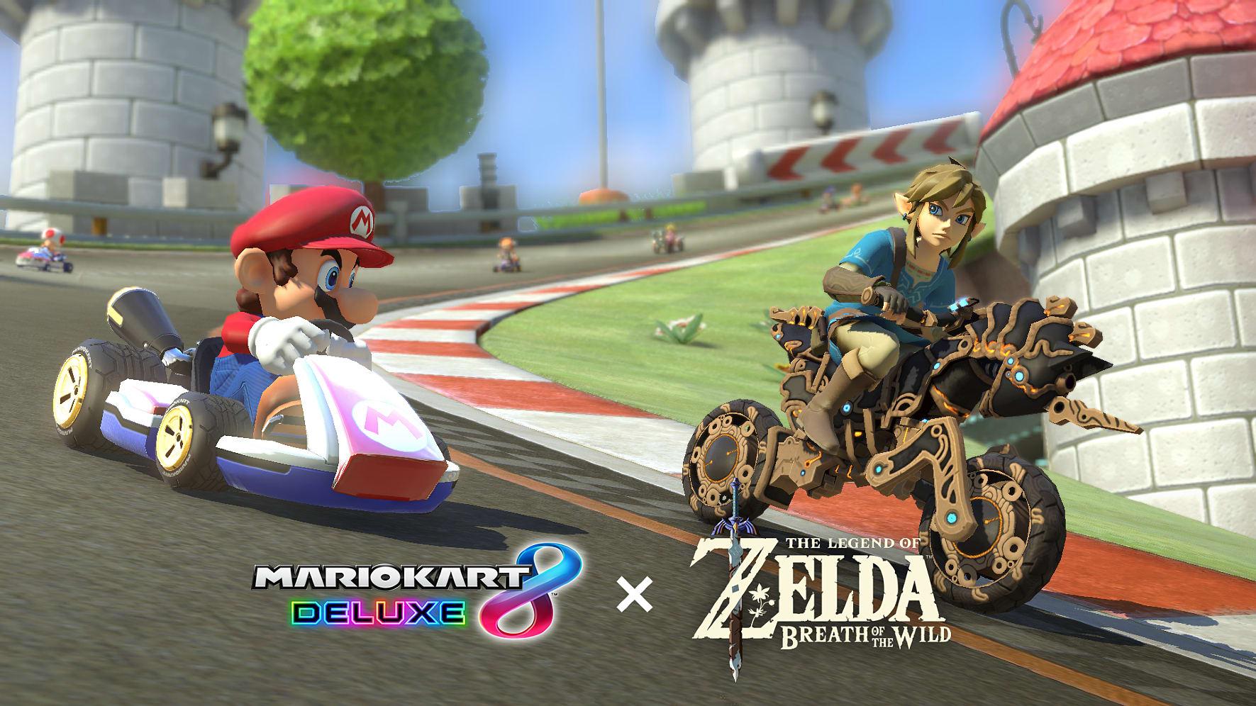 Nintendo Switch Neon Mario Kart 8 Bundle