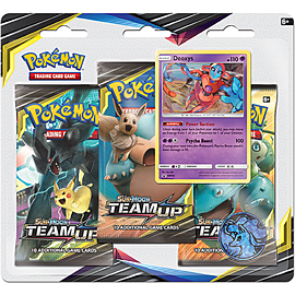 Pokemon TCG: Sun and Moon - Team Up Blister Packs