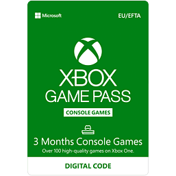 Xbox Game Pass for Console - 3 Month