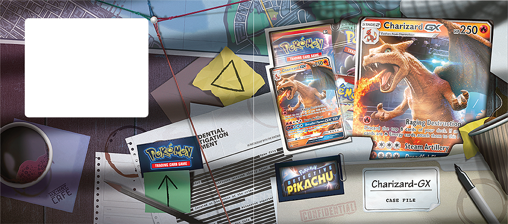 Buy Pokemon Tcg Detective Pikachu Charizard Gx Case File On Trading