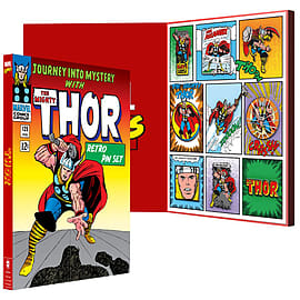 Official Marvel: Thor Retro Pin Set