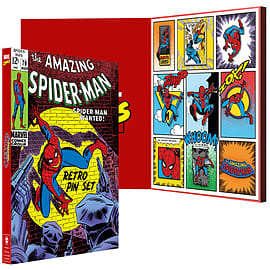 Official Marvel: Spider Man Retro Pin Set