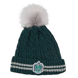 Harry Potter Pom-Pom Beanie - Slytherin