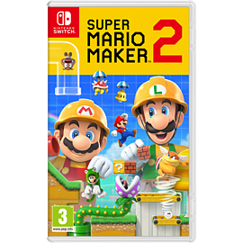 Super Mario Maker 2 with GAME Exclusive Design Set