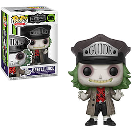 POP Movies: Beetlejuice - Beetlejuice with Hat - GAME Exclusive