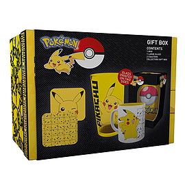 Pokemon - Pikachu Gift Box