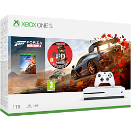 Xbox One S 1TB Console Forza Horizon 4 Bundle with Apex Legends Founders Pack