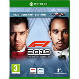 F1 2019 Anniversary Edition - with GAME Exclusive Steelbook
