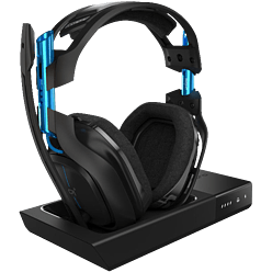 Astro A50 7.1 Surround Wireless Headset with Base Station for PS4, PC, Mac