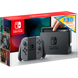 Nintendo Switch - Grey with £30 eShop Credit