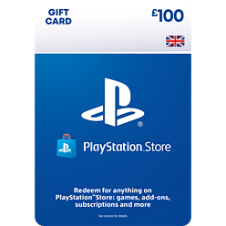 £100 PlayStation Network Wallet Top Up