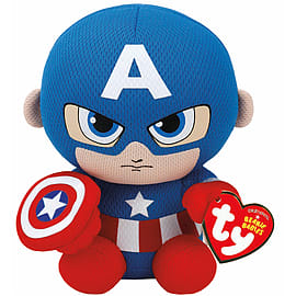TY Marvel Beanies Captain America