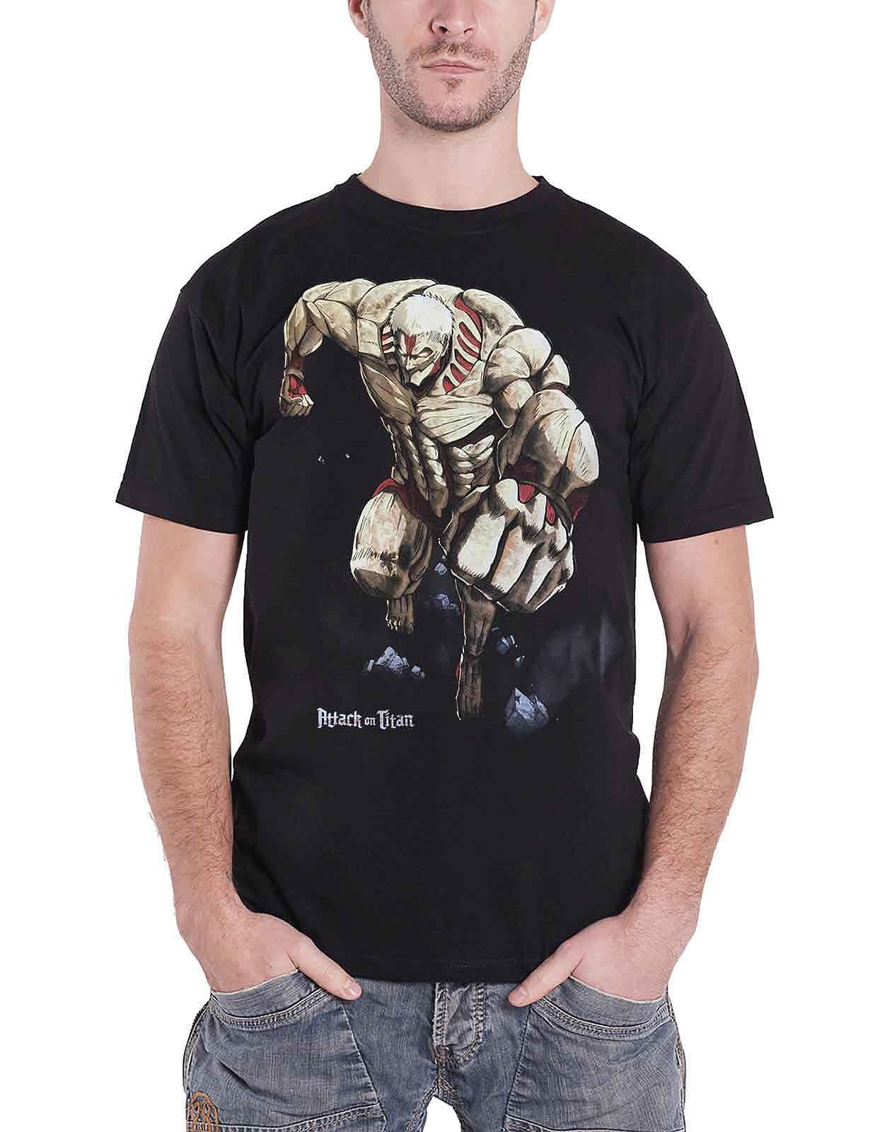 Buy Attack on Titan T Shirt Titan Monster Manga new ...