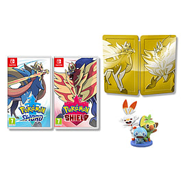 Pokemon Sword and Shield Dual Edition - with Figurine