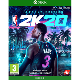 NBA 2K20 Legend Edition with Basketball - UK Retail GAME Exclusive