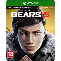 Gears 5 Ultimate Edition with UK Retail Game Exclusive Weapon Skin