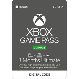 Xbox Game Pass Ultimate 3 Month Membership