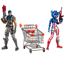 Fortnite Shopping Cart with War Paint and Fireworks Team Leader - 7