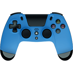 Gioteck VX-4 Wired Controller - Blue (Only at Game)