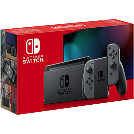 Nintendo Switch - Grey (Improved Battery)