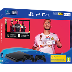 PlayStation 4 500GB FIFA 20 Bundle + Additional Dualshock 4