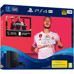 PlayStation 4 Pro 1TB FIFA 20 Bundle