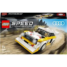 LEGO 76897 Speed Champions: Audi Sport Quattro S1 with Driver Minifigure