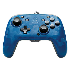 Switch Deluxe Controller - Blue Camo