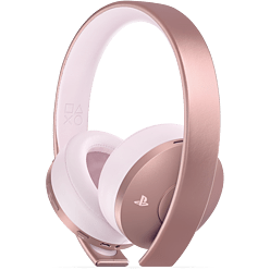PS4 Rose Gold Headset