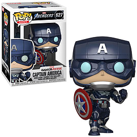 POP Marvel: Avengers Game - Captain America (Stark Tech Suit)