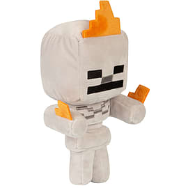"Minecraft 7"" Happy Explorer Skelton on Fire Plush"