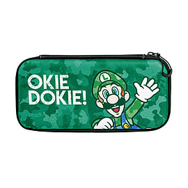 Nintendo Switch Slim Case – Luigi Camo