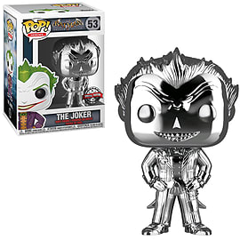 POP! Heroes: DC – The Joker (Chrome) – GAME Exclusive