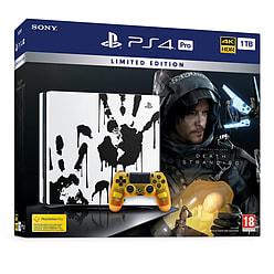 Limited Edition Death Stranding PS4 Pro Bundle - GAME Exclusive