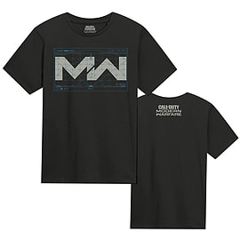 Call of Duty: Modern Warfare Black T-Shirt (XL) – GAME Exclusive