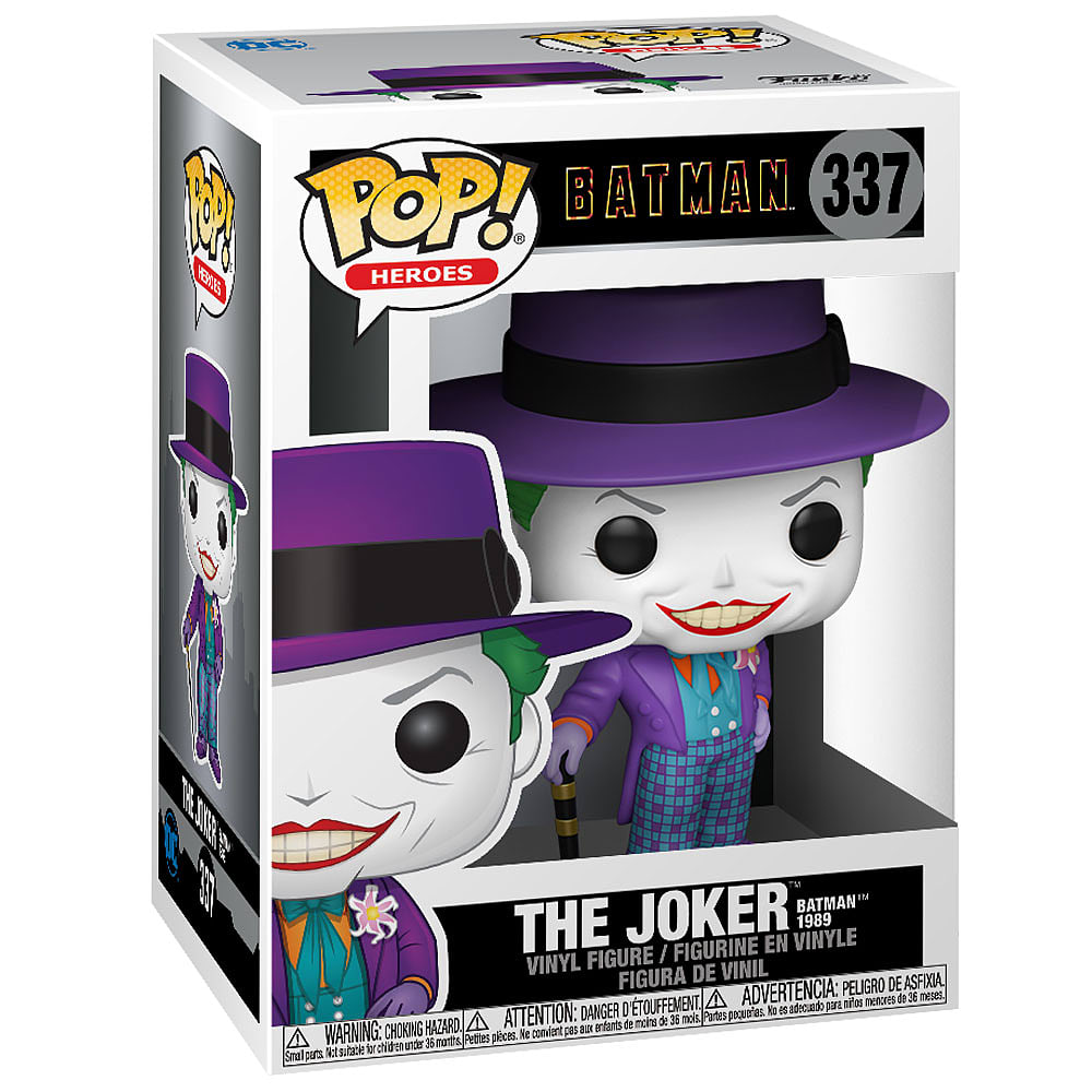 Buy POP Heroes: Batman 1989 - Joker with Hat (with Chase ...
